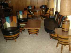 Full set of barrel furniture on craigslist Missouri