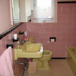Julia\'s pink bathroom