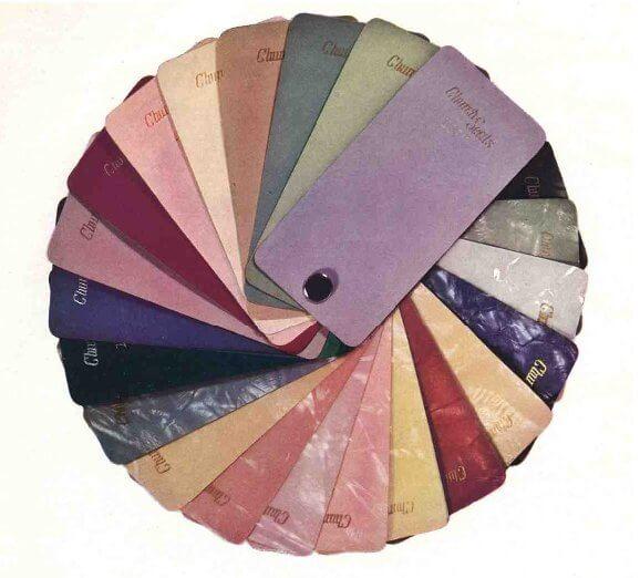 A sweet 40s palette.