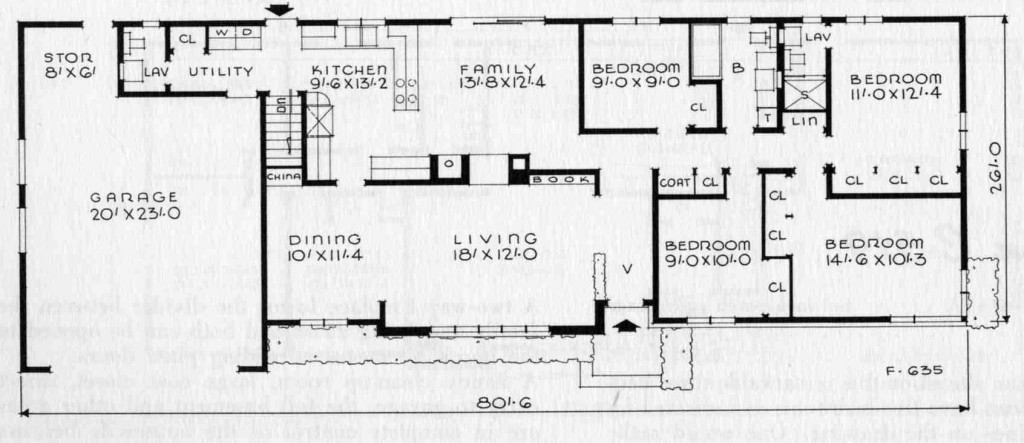 12 Reasons Own Mid Century Home on 1960s L Shaped Ranch House Plans