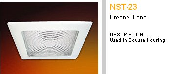 Retro Lighting Square Recessed Can