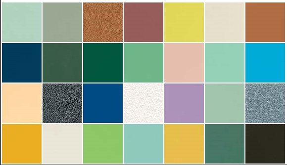 arpa laminate in retro colors