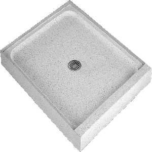 Shower pans: Swanstone...Crane terrazzo...Tile-Redi ...