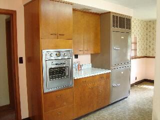 revco refrigerator in vintage kitchen