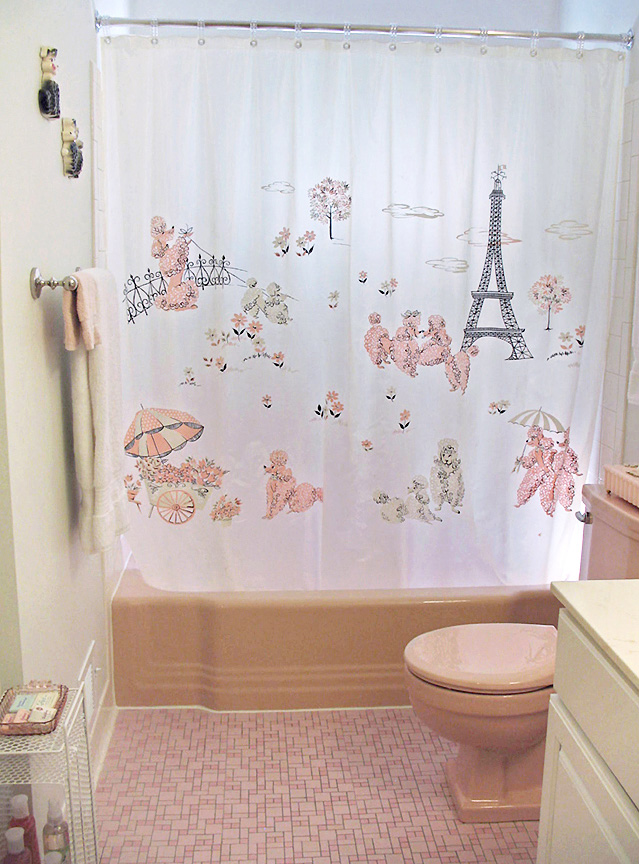 fabulous retro pink bathroom | nancypinkbath5 - Retro Renovation