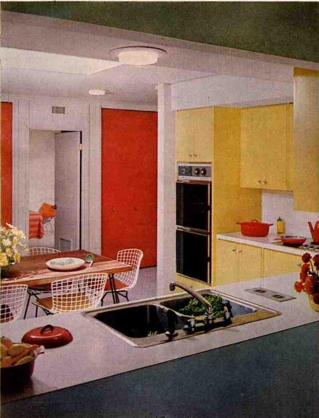 1960s inspiration kitchens retro renovation for Interior design 60s style