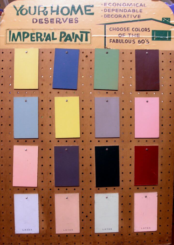 60s Paint Colors Retro Renovation