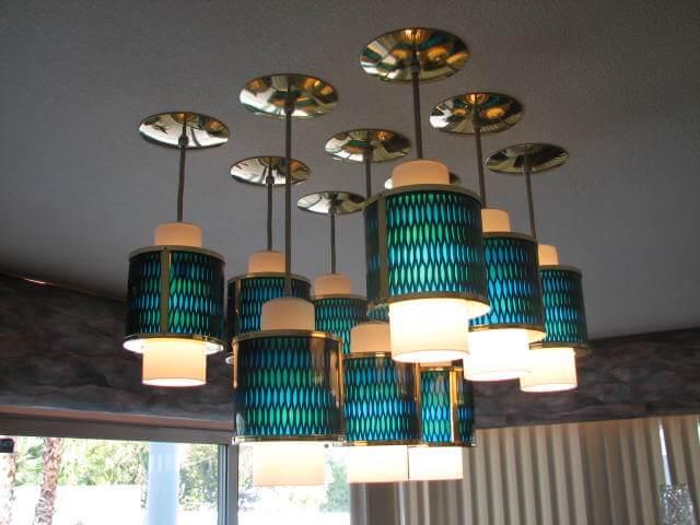 moe honeycomb pendant lights