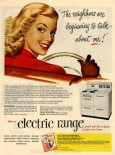 1948 General Electric electric range