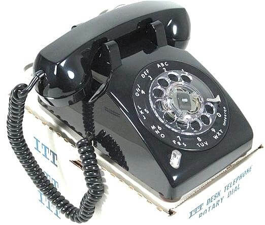 new old stock rotary dial telephone