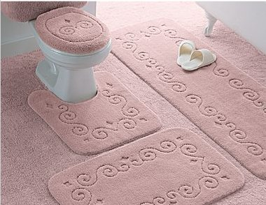 bath rugs for your 40s 50s or 60s bathroom - retro renovation Bathroom Rugs