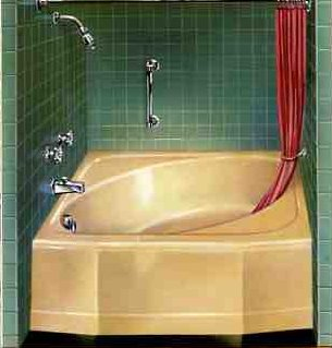 1959 kohler mayflower bathtub