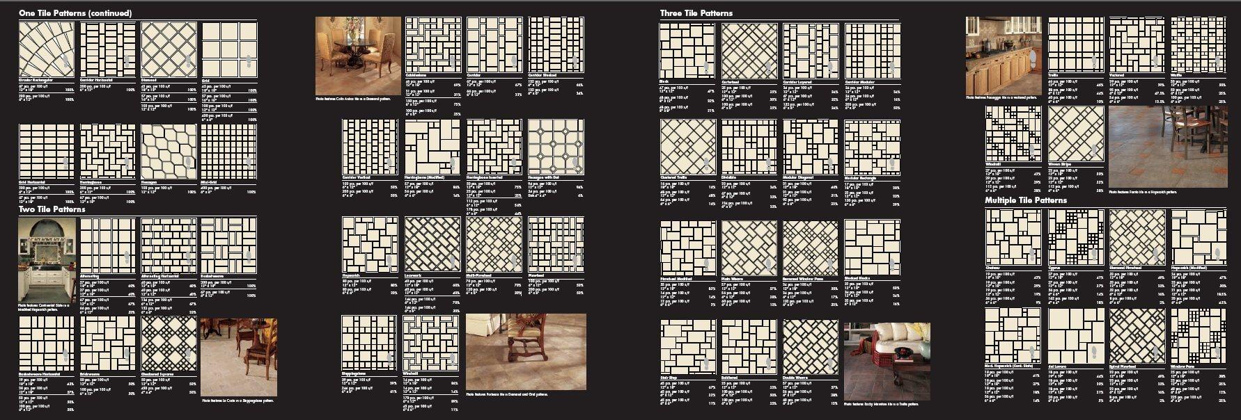 Dal tile mosaic tile patterns page 1 Retro Renovation