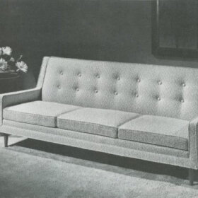 drexel profile sofa