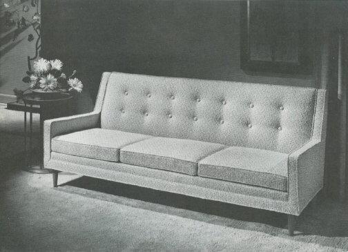 Drexel Profile Sofa Crop