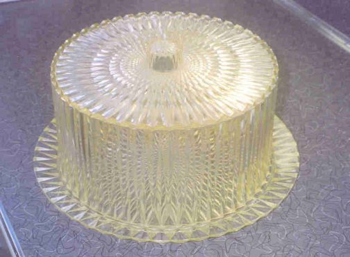 ... A vintage plastic crystal cake plate u2013 Elizabethu0027s 2nd entry ... & An antique hat stand to change with the seasons - Kristinu0027s entry ...
