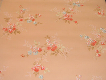 light peach vintage wallpaper
