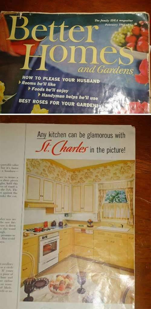 Vintage Steel Kitchen Cabinets Ad
