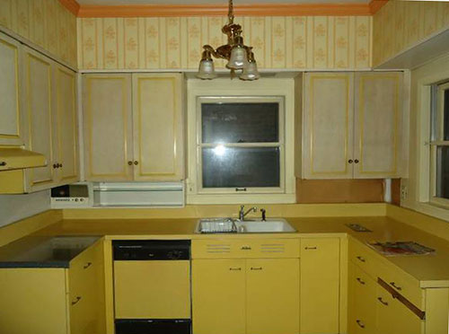 Vintage Kitchen Sink Cabinet steel kitchen cabinets - history, design and faq - retro renovation