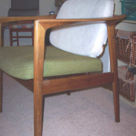 upholstery for a mid century modern chair