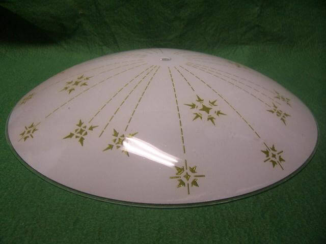 Where To Find A Shade For My Vintage Light A Round Ceiling Fixture - Round kitchen light fixtures