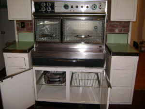 vintage frigidaire flair cabinet