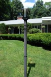 mid century light post