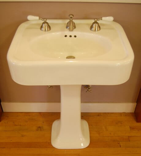 Reproduction 1930s Bathroom Sink