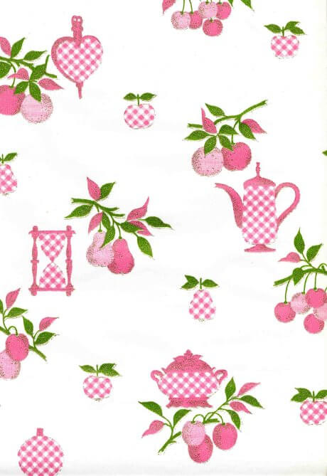 wallpaper vintage. vintage-pink-kitchen-wallpaper