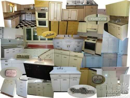 How And Where To Buy Or Sell Vintage Metal Kitchen Cabinets ...