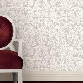 reproduction wallpaper damask