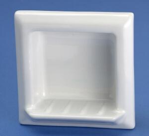 Recessed Porcelain Soap Holder Retro Renovation