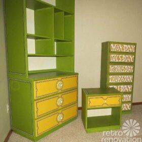vintage-flower-power-Drexel-bedroom-set