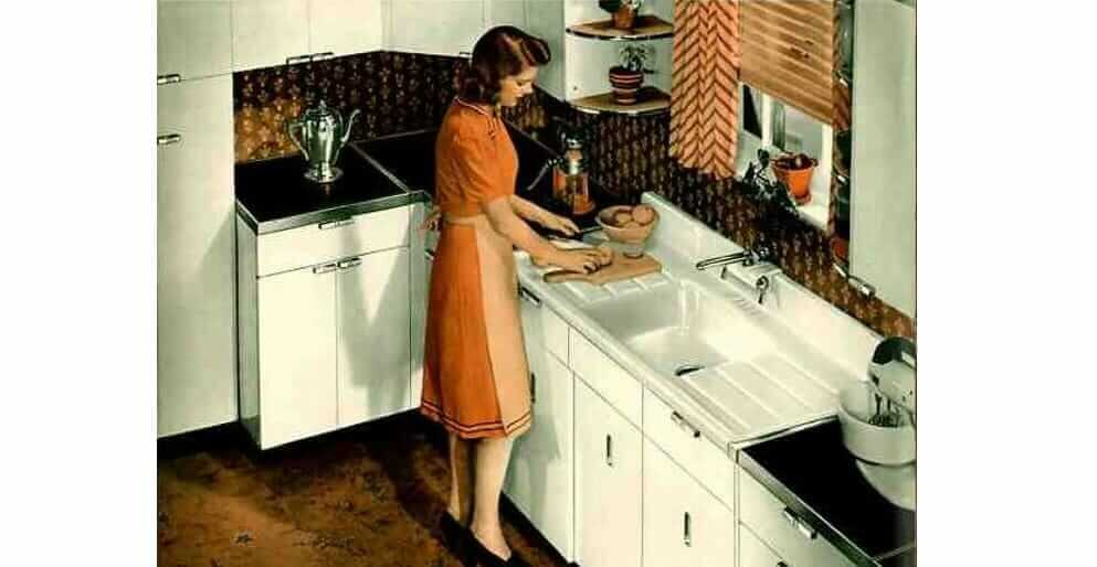 Update Montgomery Ward Steel Kitchen Cabinets A Catalog From 1941