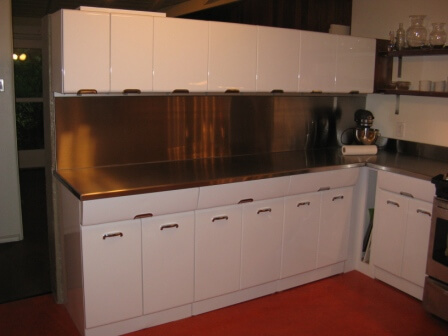 Soda Blasting Kitchen Cabinets