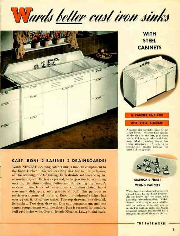 Update: Montgomery Ward steel kitchen cabinets - a catalog ...