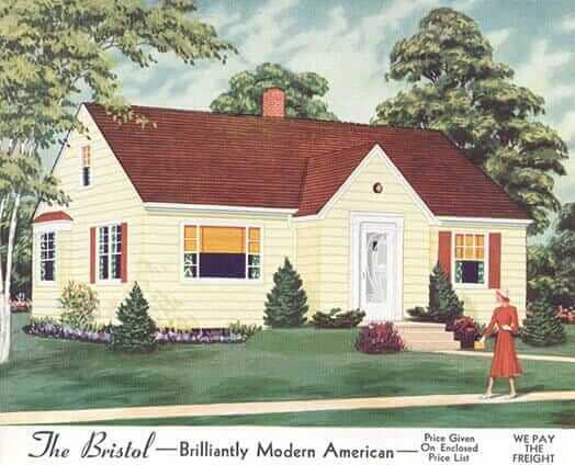 46 years of aladdin home catalogs retro renovation for 1950 bungalow house plans