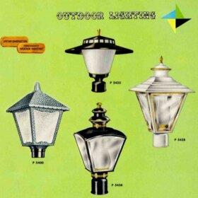 vintage progress outdoor lighting