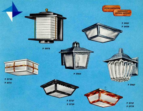 41 midcentury lighting ideas post lanterns lamp posts for Mid century porch light