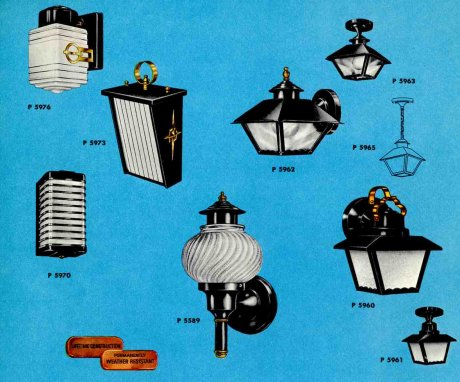 41 midcentury lighting ideas - post lanterns, lamp posts ...