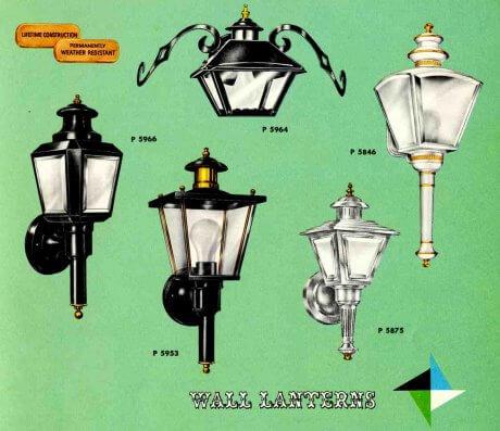 41 midcentury lighting ideas post lanterns lamp posts wall midcentury wall lanterns mozeypictures Choice Image