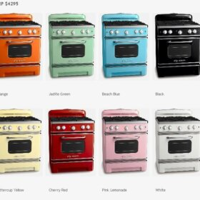 big chill ranges in many colors