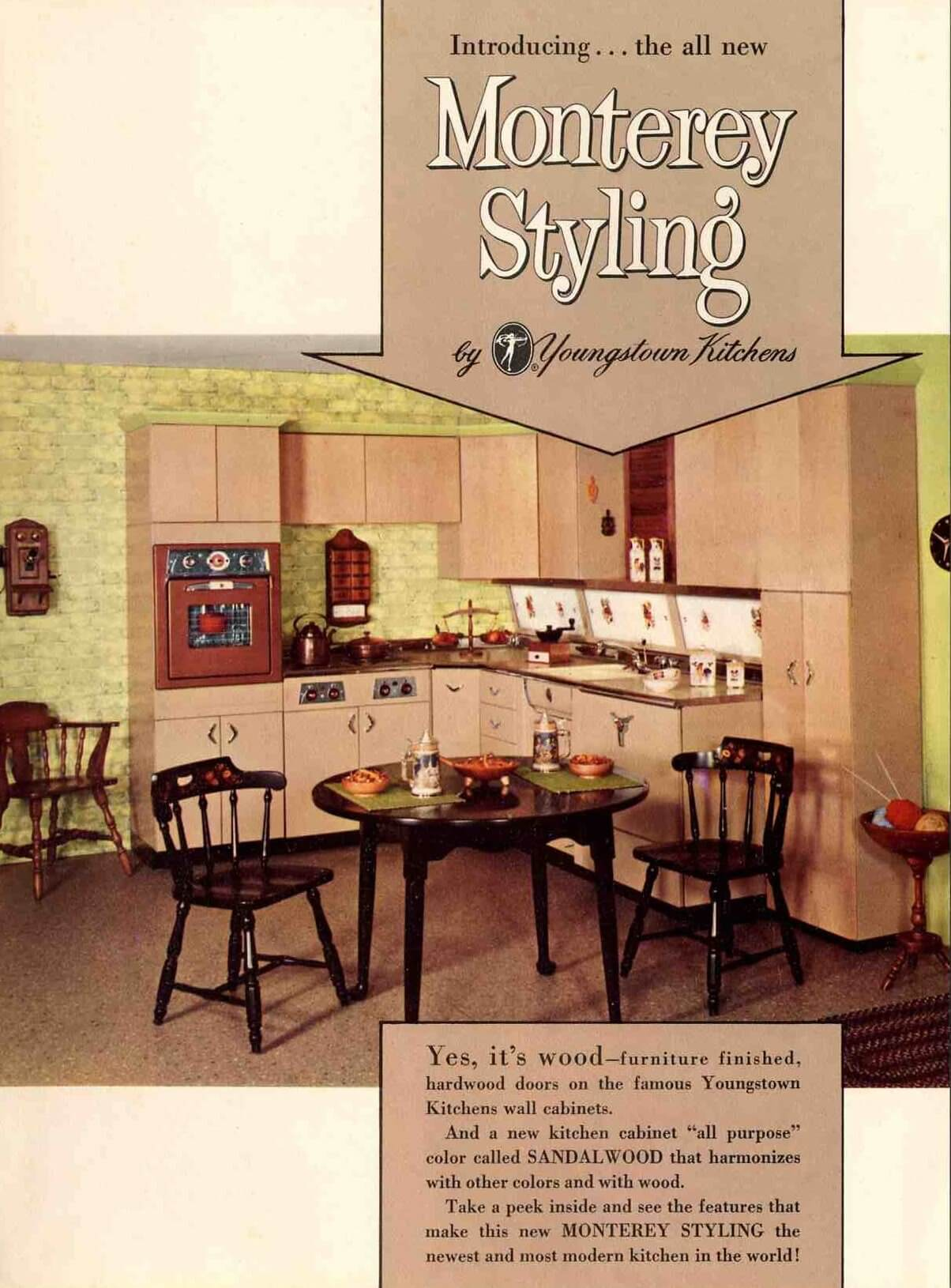 youngstown monterey design kitchen cabinets