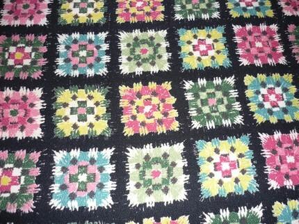barkcloth-in-a-granny-square-pattern