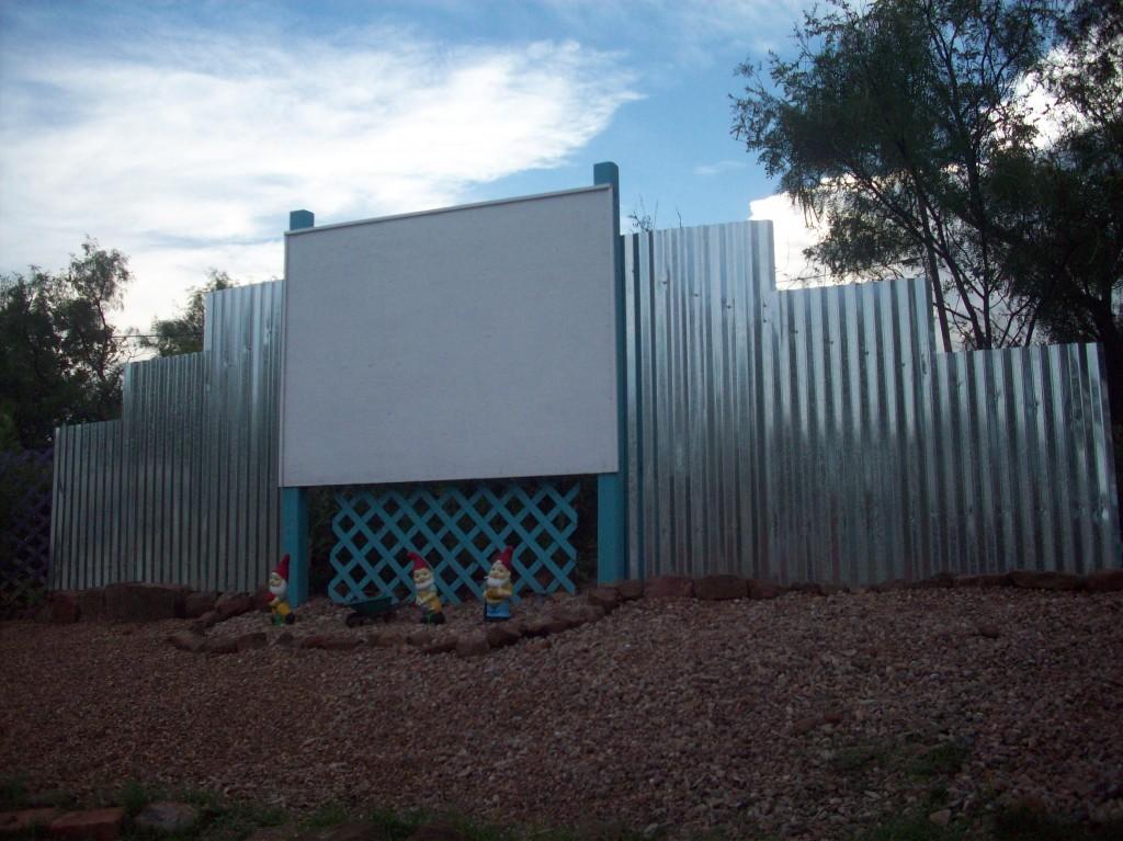 Mick S Backyard Drive In Theater Retro Renovation