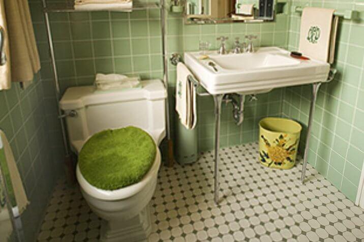 Dwight Eisenhower's bathroom at Gettysburg
