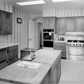 kennedy kitchen in white house