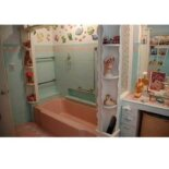 1953 pink bathroom
