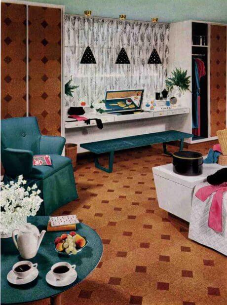 armstrong cork tile design