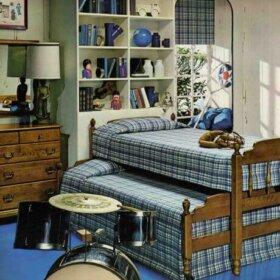 ethan allen vintage childs bedroom